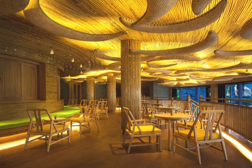 Six Senses Qing Cheng Mountain Main Dining Area