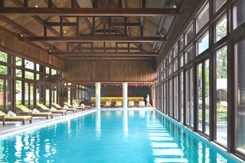Six Senses Qing Cheng Mountain Swimming Pool