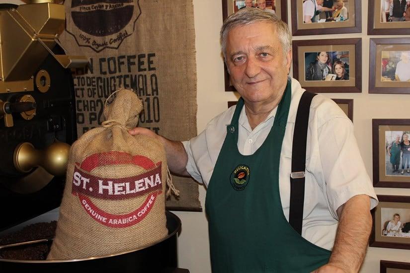 St. Helena Genuine Arabica Coffee