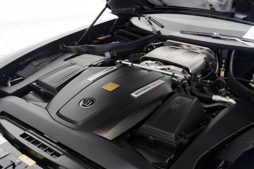 Superb Brabus Mercedes-AMG GT Engine