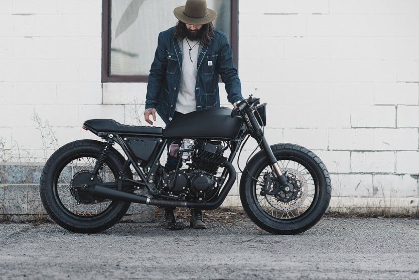 The Dark 1978 Honda CB750 Ultra Noir (9)