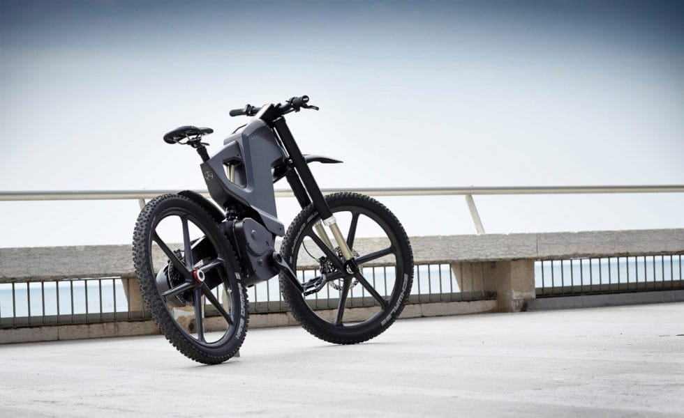 Trefecta DRT Electric Bike Back View