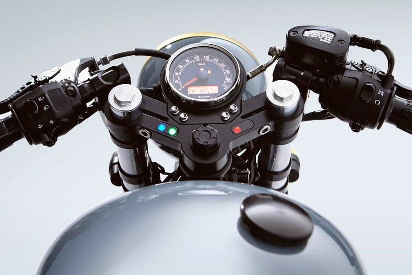 Triumph Bonneville Speedometer
