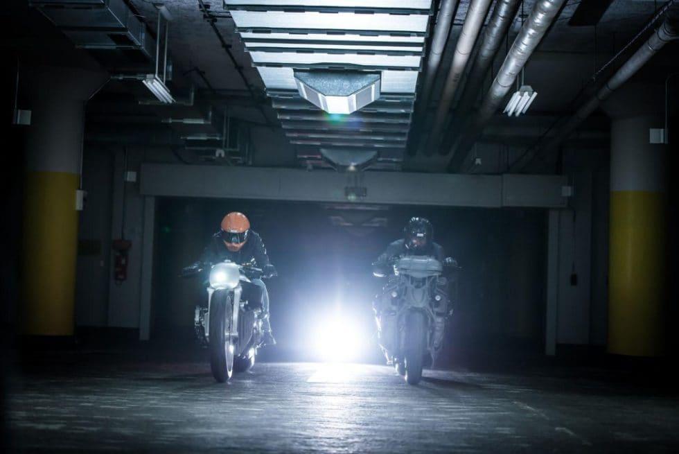 Two Custom BMW K 1600 GTL Bikes