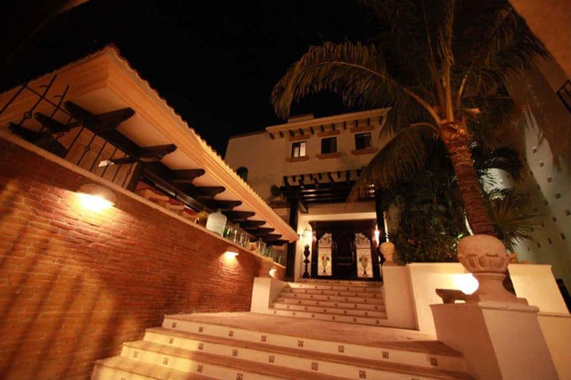 Villa Albatros In Cancun Mexico Entrance
