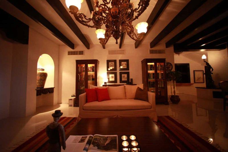 Villa Albatros In Cancun Mexico Living Area