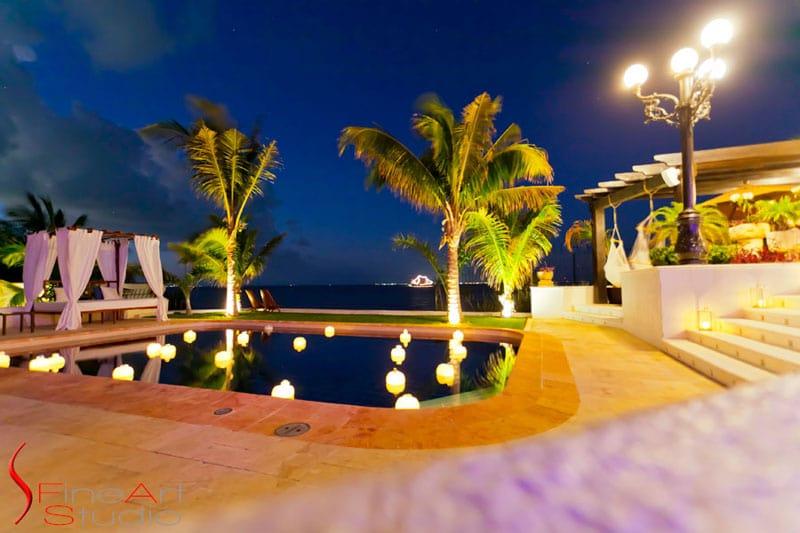 Villa Albatros In Cancun Mexico Pool