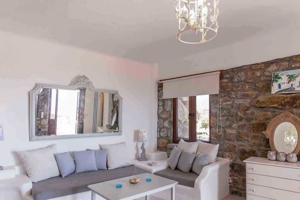 Villa Ali in Mykonos Living Room