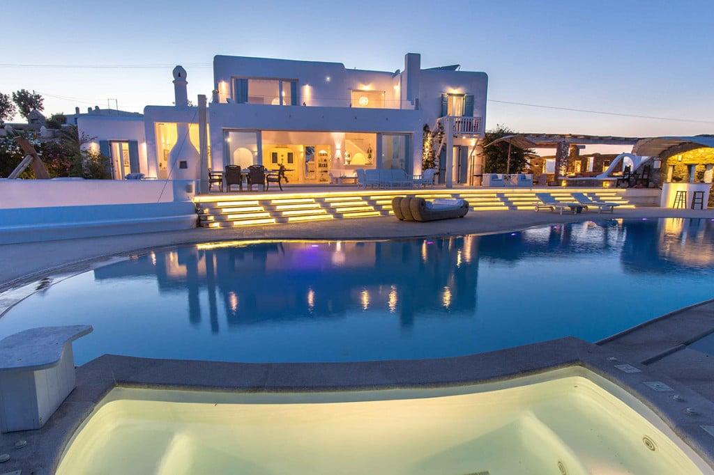 Villa Ali in Mykonos Swimming Pool