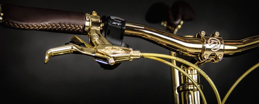 24K Gold Extreme Mountain Bike Handlebar