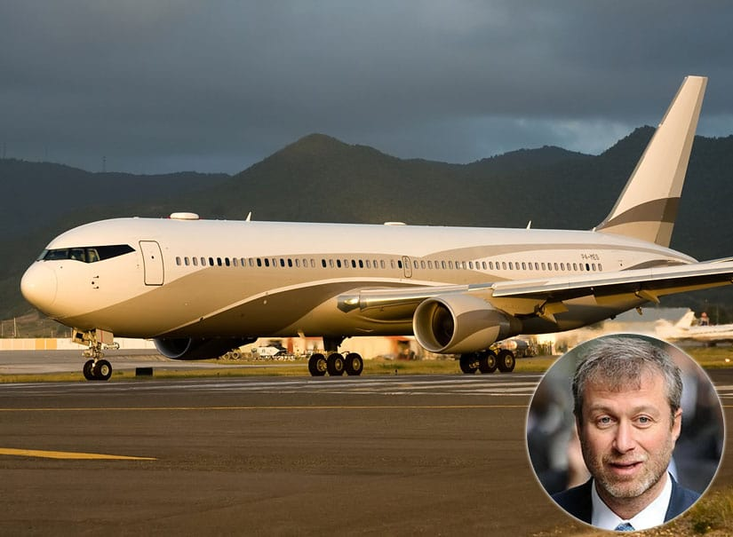 Abramovich Most Expensive The Bandit Boeing 747-33A