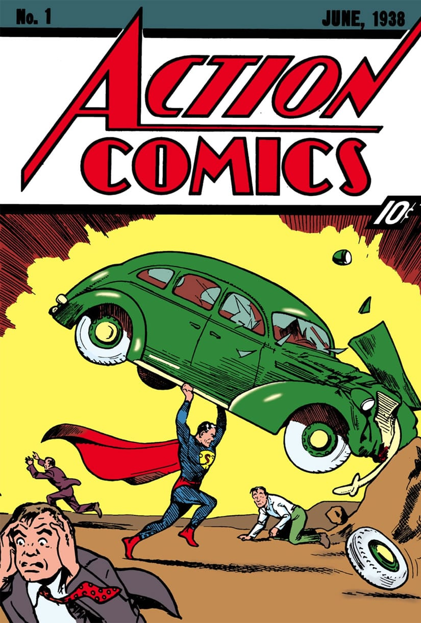 Action Comics 1 Cover