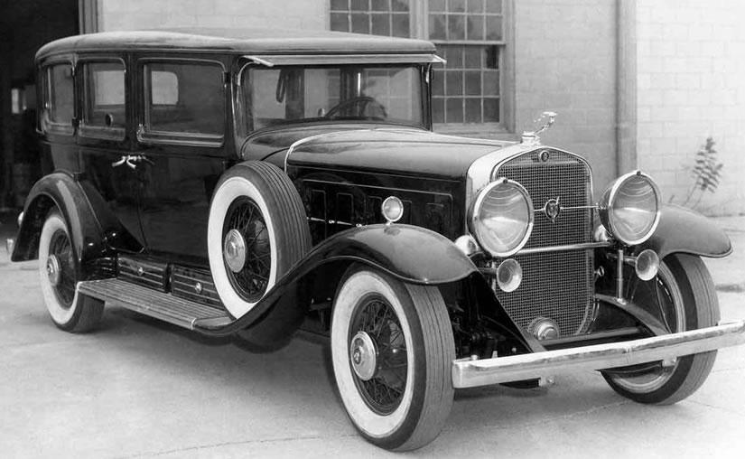 Al Capone's bullet proof car