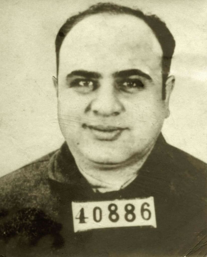 Al Capone's police mug shot