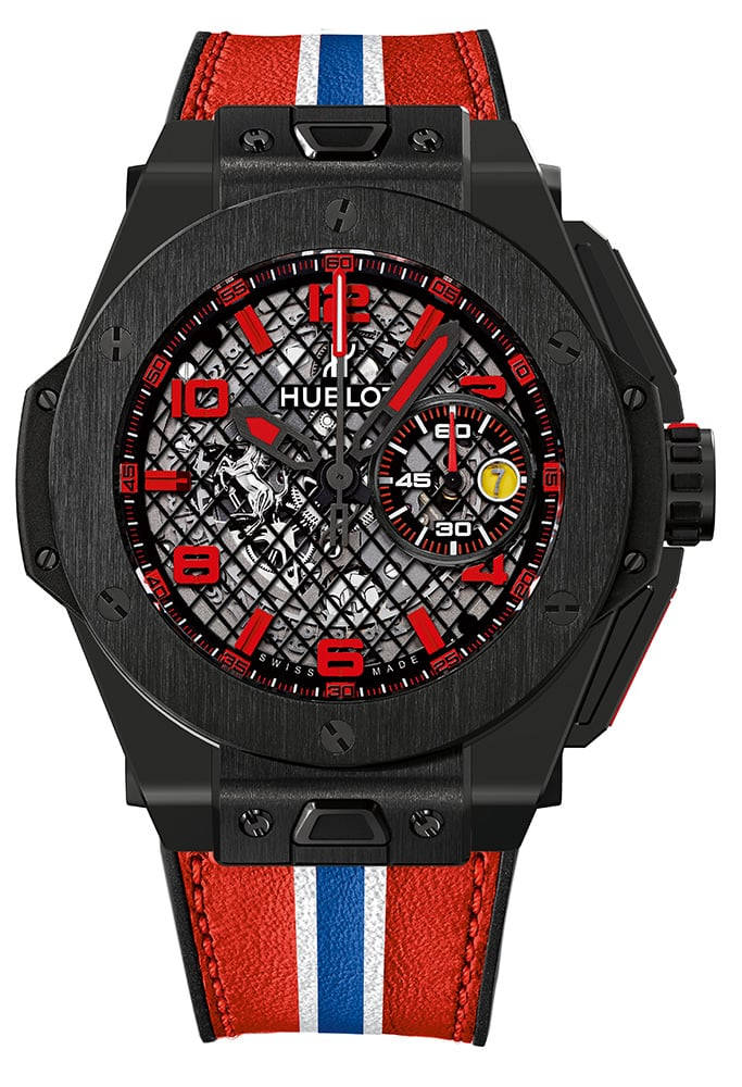 Big Bang Ferrari Black Ceramic Watch