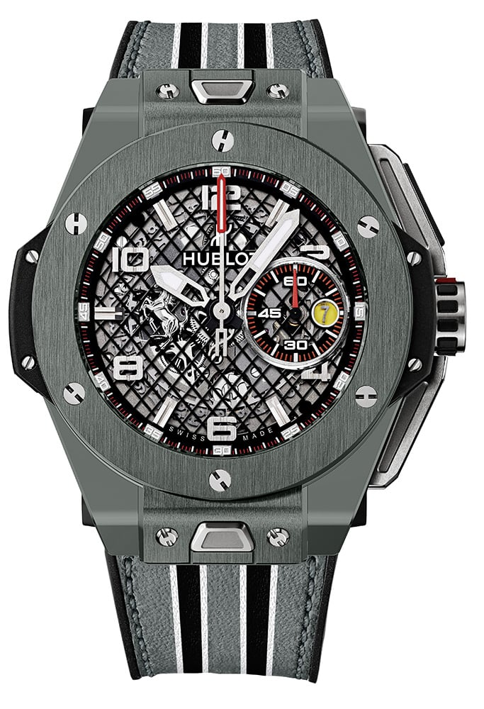 Big Bang Ferrari Grey Ceramic Watch