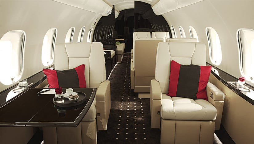 Bombardier Global 6000 Premium Aircraft Interior