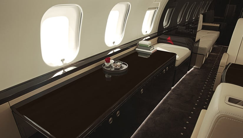 Bombardier Global 6000 Premium Interior