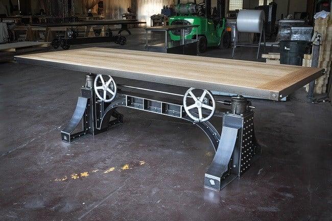 Bronx Crank Desk 6