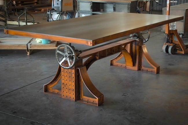 Bronx Crank Desk 7