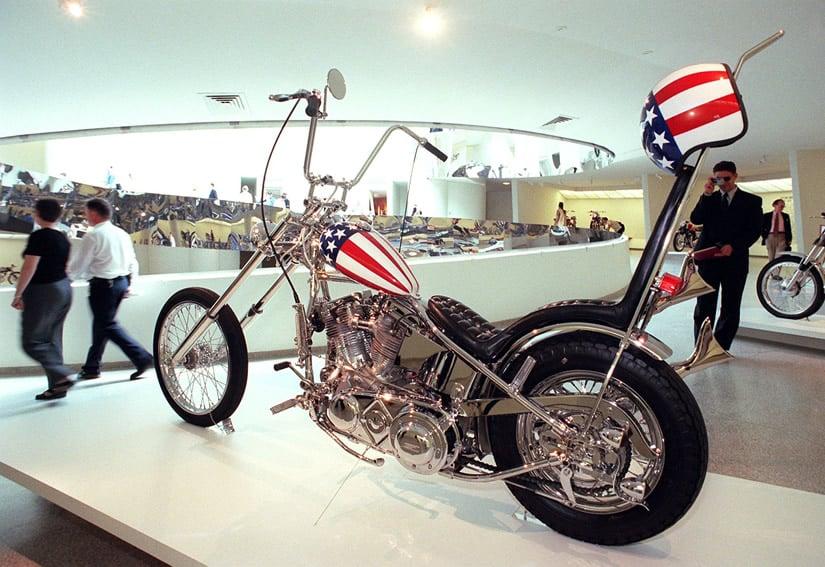 Captain America Harley Davidson Panhead