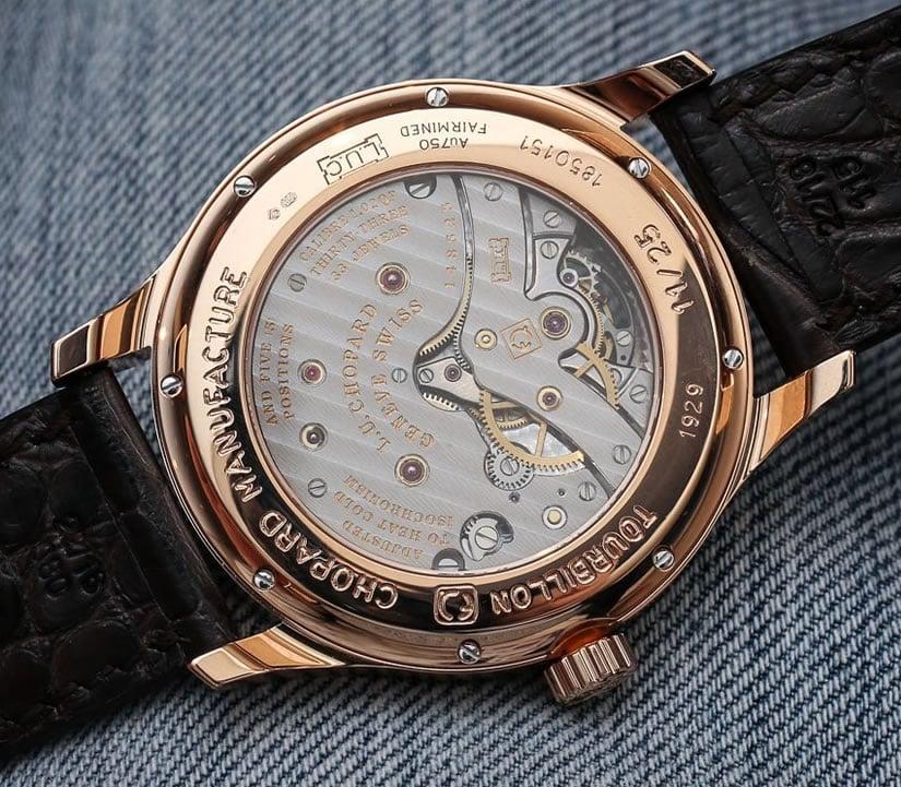 Chopard L.U.C. Tourbillon QF with Fairmined Gold Back Case