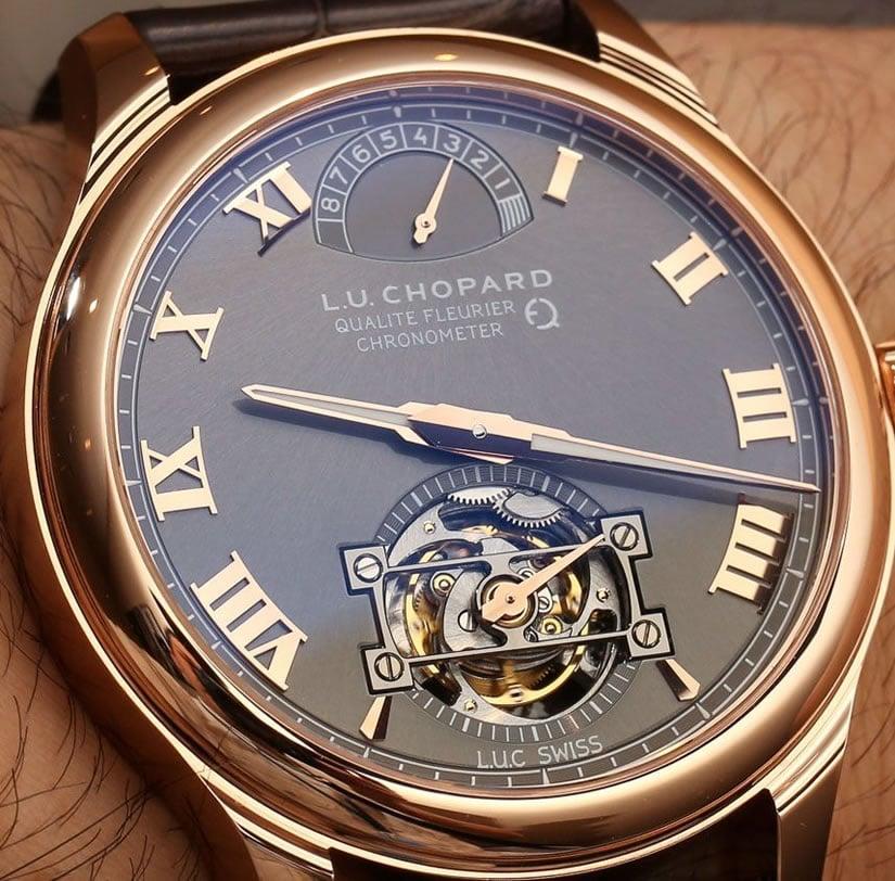 Chopard L.U.C. Tourbillon QF with Fairmined Gold