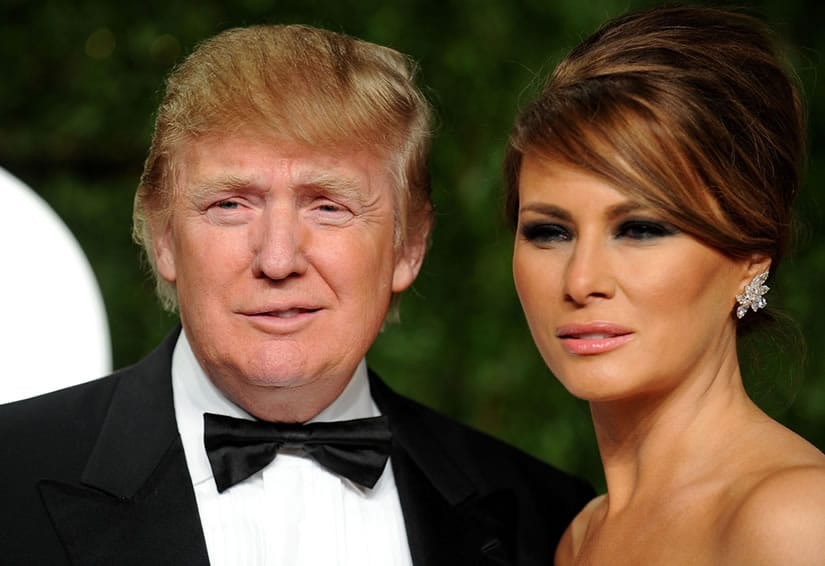 Donald Trump's wife - Melania Knauss