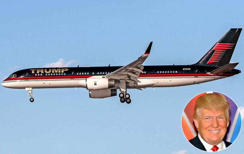 Donald Trump Most Expensive Private Jet