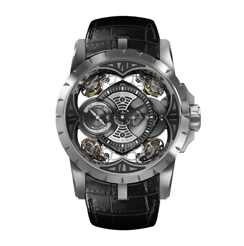 Expensive Excalibur Quatuor in Silicon by Roger Dubuis