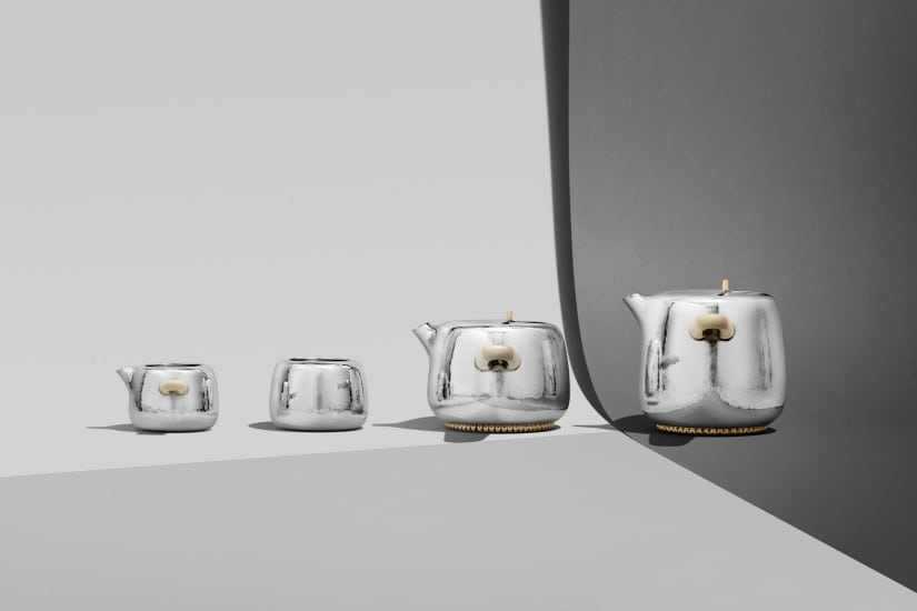 Georg Jensen Silver Tea Set by Marc Newson