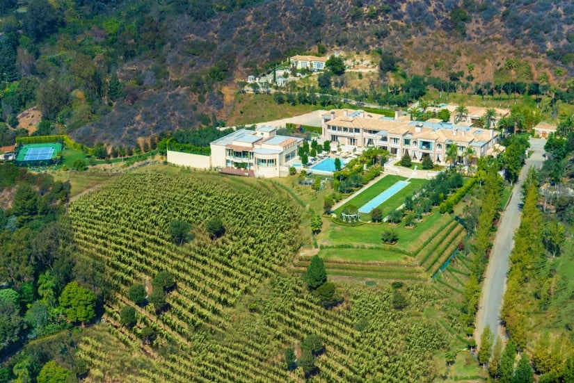 Glamorous Palazzo di Amore in Beverly Hills