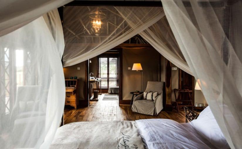 Guestroom Segera Retreat in Kenya