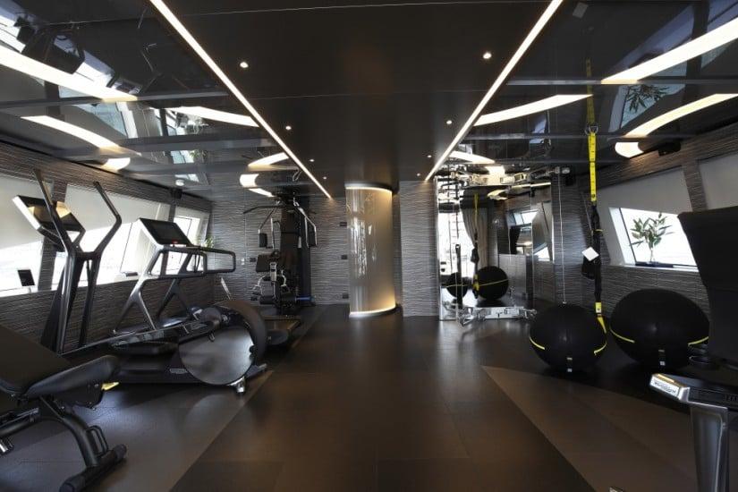 Gym Iron Man Luxury Yacht