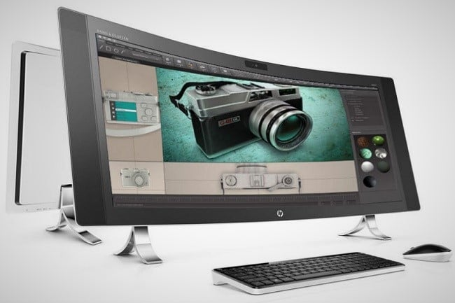 HP Envy Curved All-in-One PC 1