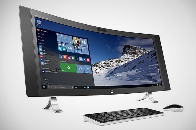 HP Envy Curved All-in-One PC 4