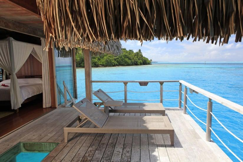 Hilton Bora Bora Nui Resort Balcony