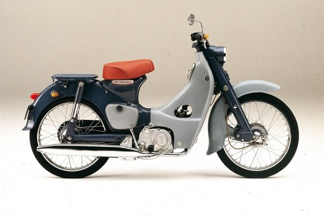 The original 1958 Honda Super Cub