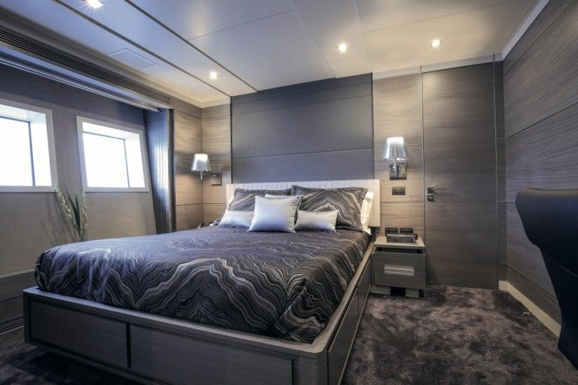 Iron Man Luxury Yacht Cabin