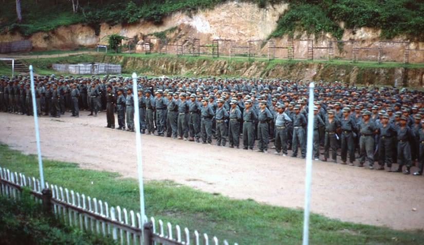 Khun Sa's forces at Ner Mone Shan State 1990