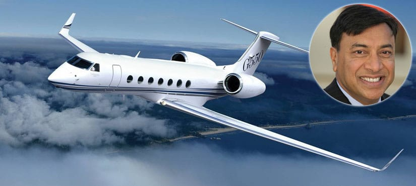 Lakshmi Mittal Luxurious Gulfstream G550 with HUD Private Jet