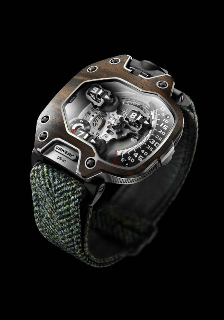 Limited Edition Urwerk UR-110 EastWood Watch