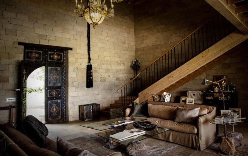 Lounge Area Segera Retreat in Kenya