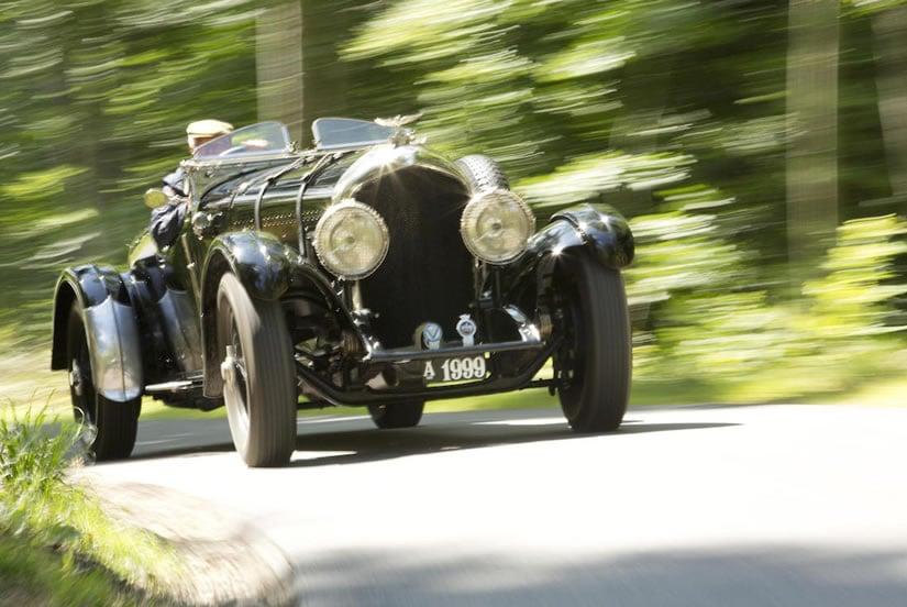 Luxury 1927 Bentley 6 ½ Litre 'Bob-Tail'