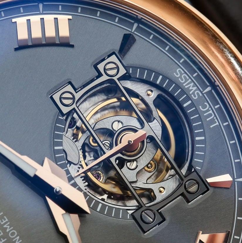 Luxury Chopard L.U.C. Tourbillon QF with Fairmined Gold Dial