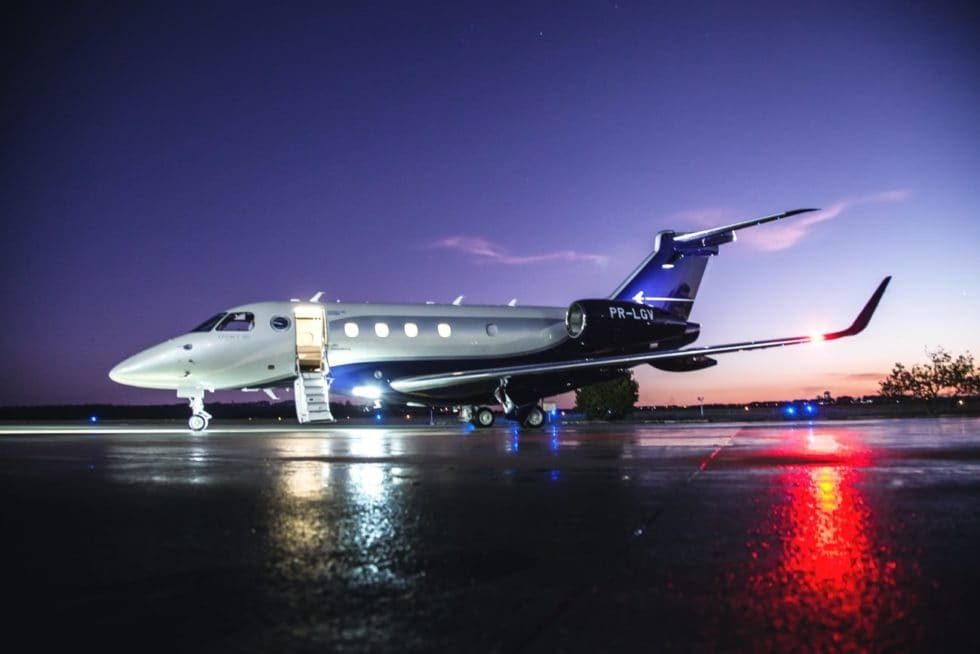 Luxury Embraer Legacy 450 Jet