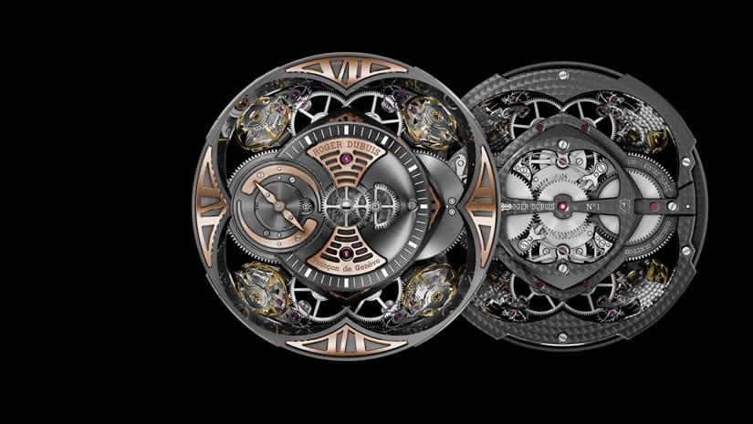 Luxury Excalibur Quatuor in Silicon Movement
