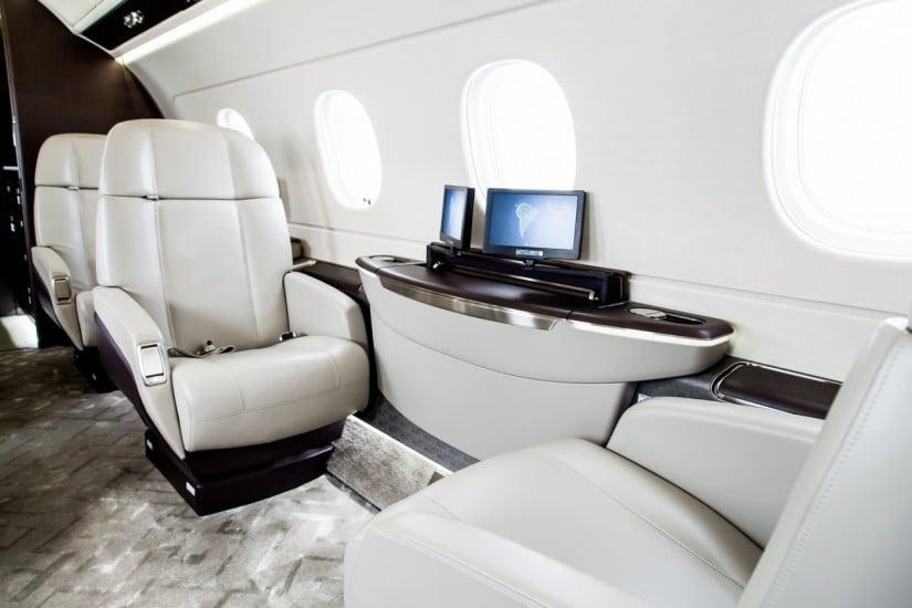 Luxury Interior Embraer Legacy 450 Jet