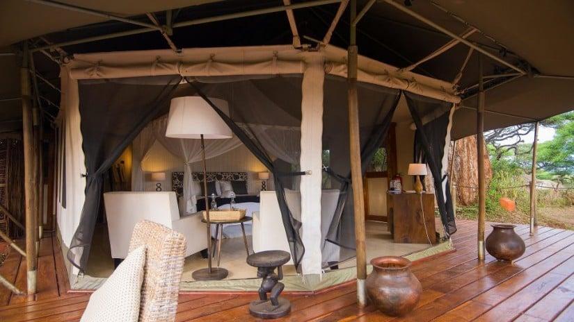 Luxury Sanctuary Swala Camp