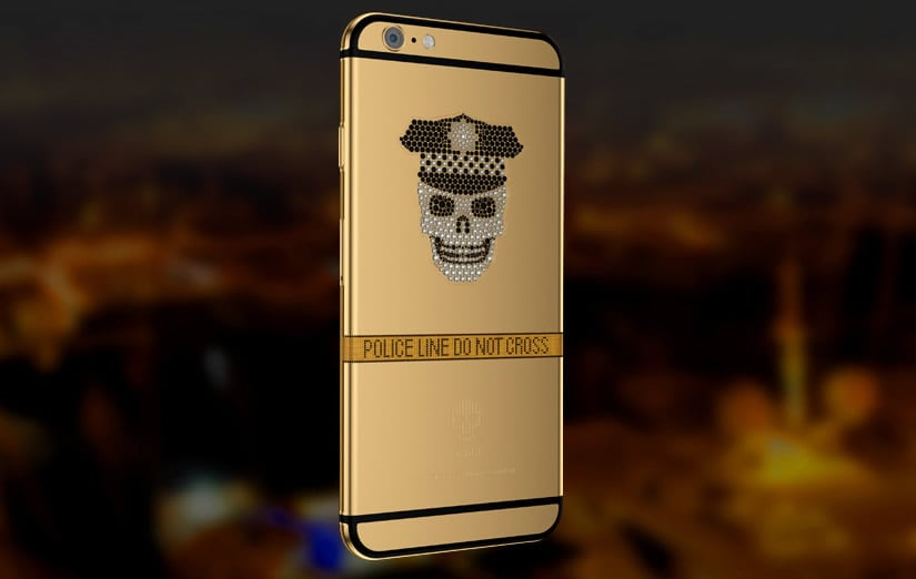 Mana Skull iPhone 6 - luxury cell phones